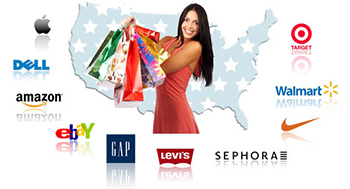 Покупки в интернет магазинах США